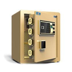 Mei Xu Armoire de sécurité, coffre de coffre-fort invisible tout en acier, avec un petit mot de passe, adapté aux: bureau/maison/finances, 3 couleurs disponibles @ (Color : B)