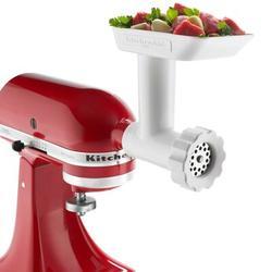 KitchenAid® Food Grinder Attachment in White, Size 6.8 H x 8.7 W x 6.2 D in | Wayfair KSMFGA