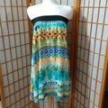 Lularoe Skirts | Lularoe Bohemian Designed Skirt Sz M | Color: Green/Orange | Size: M