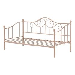 South Shore Lily Rose Metal Daybed, Pink, Twin