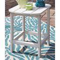 Signature Design by Ashley Furniture Console Tables White - White Sundown Treasure End Table