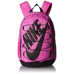 Nike Hayward 2.0 Backpack, Nike Backpack for Women and Men with Polyester Shell & Adjustable Straps, China Rose/Black/Black