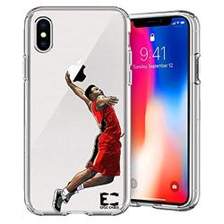 iPhone 6/6S iPhone 7/iPhone 8 Case Epic Cases Ultra Slim Crystal Clear Basketball Series Soft Transparent TPU Case Cover Apple (iPhone 6/6s) (iPhone 7) (iPhone 8) - Zion (iPhone 6/7/8)