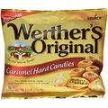 WERTHER'S ORIGINAL Caramel Hard Candies, 5.5 Ounce Bag (Pack of 12), Hard Candy, Bulk Candy, Individually Wrapped Candy Caramels, Caramel Candy Sweets, Bag of Candy, Hard Candy Bulk
