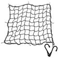 """Superior Heavy Duty 9MM(3/8"""") Cargo Net with Steel Hooks. Must Have to Secure Heavy Valuable Cargo. Tough Elastic Bungee Cord Mesh Design Makes it Essential Gear for Pick-ups, SUVs, 4x4s and Trailers"""