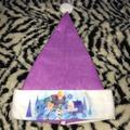 Disney Accessories | Olafs Frozen Adventure Disney Santa Hat | Color: Purple/White | Size: Os