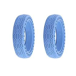 Konesky Electric Scooter Replacement Tire for Xiaomi M365, 8.5 inch Mi Scooter Tires, Honeycomb Rubber Solid Tire Front/Rear Tire Replacement Wheels for Scooter