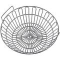 """SELEWARE Charcoal Basket, 14"""" Innovative Stainless Steel Lump Charcoal Ash Basket, Grill Baskets for The Large Big Green Egg, Primo Kamado and Large Grill Dome, Chrome"""