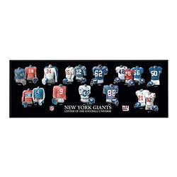 NFL New York Giants Unisex New York Giants Legacy Uniform PlaqueNew York Giants Legacy Uniform Plaque, Black, Plaque