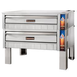 Sierra Range SRPO-72G-2 Double Pizza Deck Oven, Natural Gas