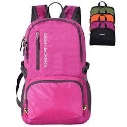 SMONT Lightweight Packable Backpack Foldable Travel Hiking Daypack for Men Women