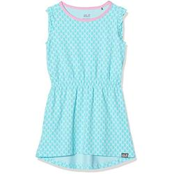Jack Wolfskin Lily Lagoon Robe Jupe Fille, Aquamarine All Over, 104