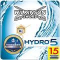 Wilkinson Sword Wilkinson Sword Ffp Box Hydro 5 Lot de 15 recharges de lames de 5 feuilles 150 g