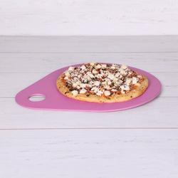 """Elite Global Solutions Bamboo Pizza Pan Bamboo in Indigo, Size 0.6"""" H x 12"""" W 12"""" D   Wayfair ECO28-12-RO"""
