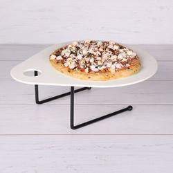 """Elite Global Solutions Bamboo Pizza Pan Bamboo in Yellow, Size 0.6"""" H x 12"""" W 12"""" D   Wayfair ECO28-12-PP"""