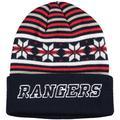Men's adidas Navy New York Rangers Culture Head Logo Cuffed Knit Hat