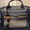 Rebecca Minkoff Other   Navy Blue Leather Rebecca Minkoff Satchel   Color: Blue/Silver   Size: Os