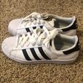 Adidas Shoes | Adidas Superstar Casual Sneakers From Finishline | Color: Black/White | Size: 8.5