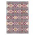 nuLOOM Indoor Rugs Multi - Blue & Pink Geometric Multicolor Kamala Rug