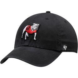 """Men's '47 Black Georgia Bulldogs Dawg Clean Up Adjustable Hat"""