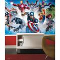 RoomMates RMK11411M Avenger Gallery Art Peel and Stick Wallpaper Mural - 10.5 ft. x 6 ft.