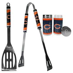 NFL Siskiyou Sports Fan Shop Chicago Bears 2pc BBQ Set with Tailgate Salt & Pepper Shakers One Size Team Color