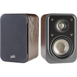 Polk Audio Signature Series S10 2-Way Surround Speakers (Classic Brown Walnut, Pair) AM9637