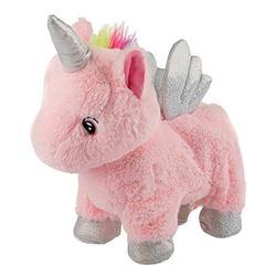 """Wild Republic Animated Unicorn, Stuffed Animal, Lights Up, Walks, Shakes, Whinnies, Unicorn Gifts for Girls, Baby Toys, Unicorn Toys, Plush Unicorn, 12"""", White"""