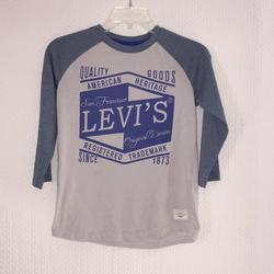 Levi's Shirts & Tops   Boys Levis San Francisco Shirt   Color: Blue/Gray   Size: Sb