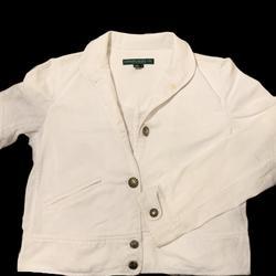Ralph Lauren Jackets & Coats | Lauren Jeans Co Classic Denim Jacket S | Color: White | Size: S