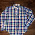 Ralph Lauren Shirts & Tops   Nwt Ralph Lauren Plaid Cotton Poplin Shirt   Color: Red   Size: Lb