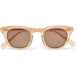 Hanalei S D-frame Acetate Sunglasses - Brown - Mr. Leight Sunglasses