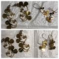 Disney Jewelry | 2 Pairs Of Disney Mickey Mouse Gold Earrings | Color: Gold | Size: Os
