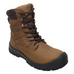 "AdTec 8"" Waterproof Work Boot Steel Toe - Mens 13 Tan Boot Medium"