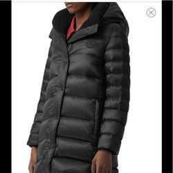 Burberry Jackets & Coats   Burberry Kington Archive Logo Down Hooded Coat   Color: Black   Size: Xs
