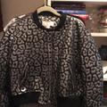 Michael Kors Jackets & Coats   Cropped Bomber-Like Quilted Jacket.   Color: Black/Silver   Size: Xl