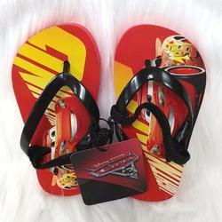 Disney Shoes   Disney Cars 3 Flip Flop Sz 56 Sandal Baby Shoes   Color: Red   Size: 6bb