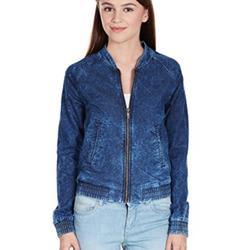 Adidas Jackets & Coats | Adidas Rare Denim Zip Up Track Bomber Jacket L | Color: Blue | Size: L