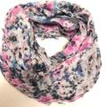 American Eagle Outfitters Accessories | 4-20$ American Eagle Scarf Flower Watercolor | Color: Blue/Pink | Size: Os
