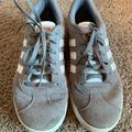 Adidas Shoes | Boys Adidas Gray Tennis Shoes | Color: Gray | Size: 5bb