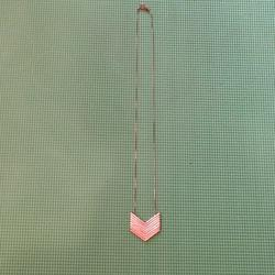 Madewell Jewelry | Arrowstack Necklace | Color: Gold | Size: Os