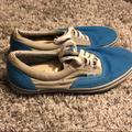 Vans Shoes | 325 ! Like New Men'S Blue And Grey Vans | Color: Blue/Gray | Size: 10.5