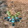 Anthropologie Jewelry | Anthropologie Statement Necklace | Color: Blue/Green | Size: Os