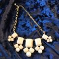 Kate Spade Jewelry | Beautiful Kate Spade Statement Necklace Euc | Color: Cream/Gold | Size: Os