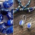 Urban Outfitters Jewelry | Blue Sapphire Sterling Silver Earring Drop Dangle | Color: Blue/Silver | Size: Os