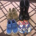 Vans Shoes | Boys Shoe Bundle 78 | Color: Blue/Red | Size: 8c And 78