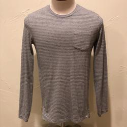 American Eagle Outfitters Shirts   American Eagle Seriously Soft Men Xs Gray Ls Shirt   Color: Gray   Size: Xs