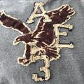 American Eagle Outfitters Shirts   American Eagle Gray Long Sleeve Sweat Shirt   Color: Brown/Gray   Size: M