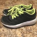 Adidas Shoes | Boys Black And Neon Adidas Tennis Shoes Size 11 | Color: Black/Red | Size: 11b