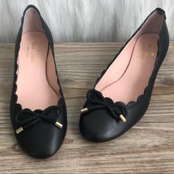 Kate Spade Shoes | Kate Spade Yasmin Bow Block Heel | Color: Black | Size: 5.5